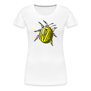 Bug T-Shirts Colorado Beetle - Women's Premium T-Shirt