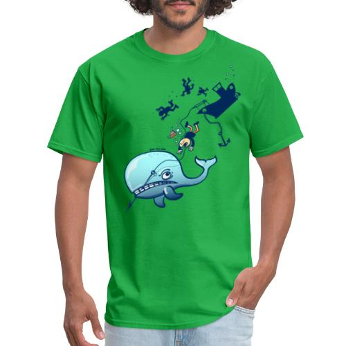Whales are Furious! - Men's T-Shirt