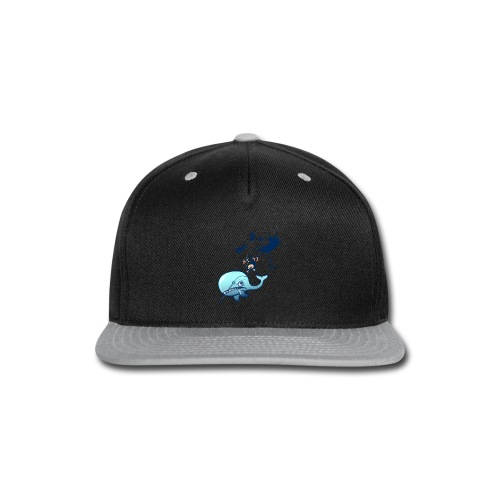 Whales are Furious! - Snap-back Baseball Cap