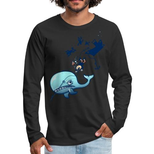 Whales are Furious! - Men's Premium Long Sleeve T-Shirt
