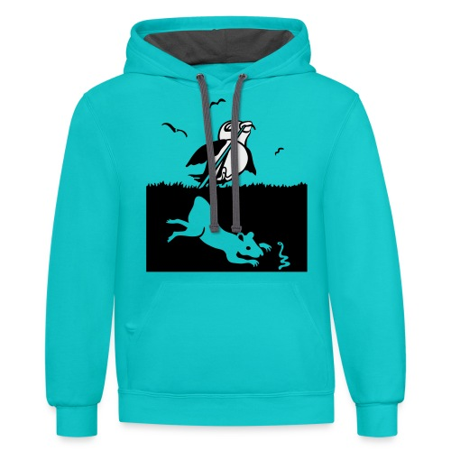 Early Bird - Contrast Hoodie