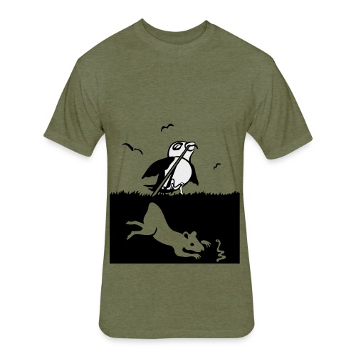 Early Bird - Fitted Cotton/Poly T-Shirt by Next Level