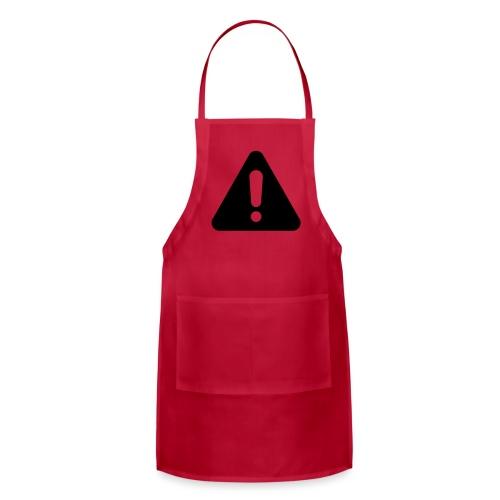WARNING - Adjustable Apron