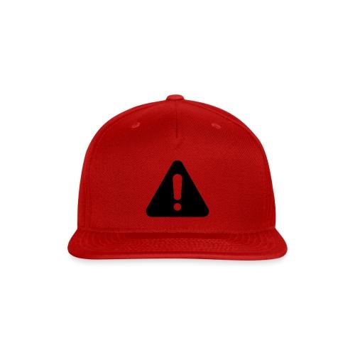 WARNING - Snap-back Baseball Cap