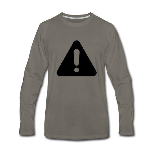 WARNING - Men's Premium Long Sleeve T-Shirt