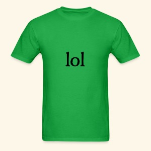 lol...ten thingy - Men's T-Shirt