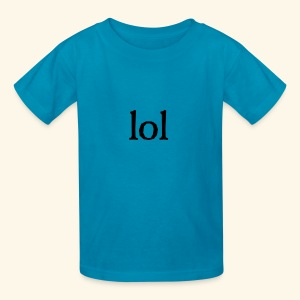 lol...ten thingy - Kids' T-Shirt