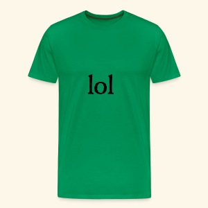lol...ten thingy - Men's Premium T-Shirt