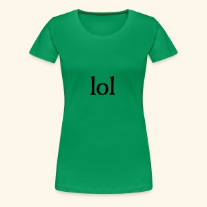 lol...ten thingy - Women's Premium T-Shirt