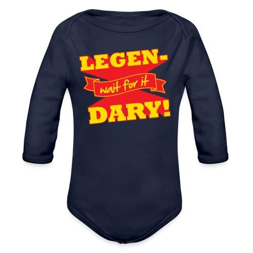 Legen-Dary Children's T-Shirt - Organic Long Sleeve Baby Bodysuit
