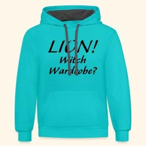 Lion! Witch Wardrobe? - Contrast Hoodie