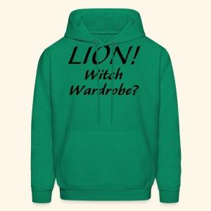 Lion! Witch Wardrobe? - Men's Hoodie