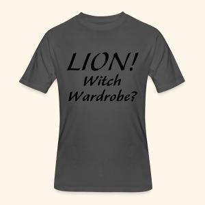 Lion! Witch Wardrobe? - Men's 50/50 T-Shirt