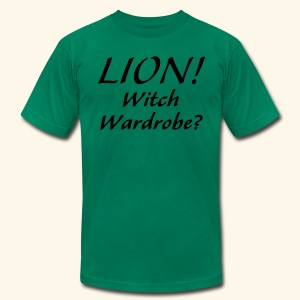 Lion! Witch Wardrobe? - Men's T-Shirt by American Apparel