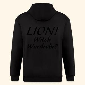 Lion! Witch Wardrobe? - Men's Zip Hoodie