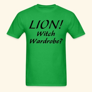 Lion! Witch Wardrobe? - Men's T-Shirt