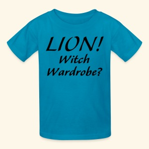 Lion! Witch Wardrobe? - Kids' T-Shirt