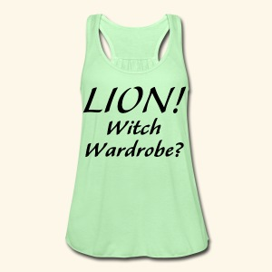Lion! Witch Wardrobe? - Women's Flowy Tank Top by Bella