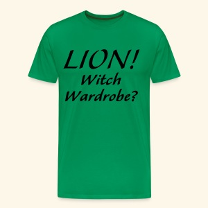 Lion! Witch Wardrobe? - Men's Premium T-Shirt