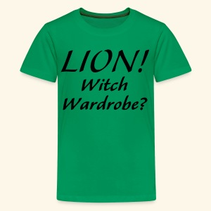 Lion! Witch Wardrobe? - Kids' Premium T-Shirt