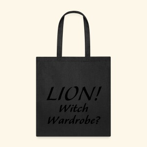 Lion! Witch Wardrobe? - Tote Bag