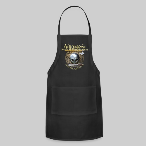 Vikings North America T-Shirt Logo Front/Tagline Back - Adjustable Apron