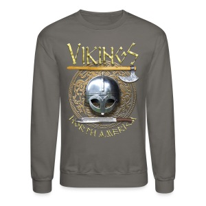 Vikings North America T-Shirt Logo Front/Tagline Back - Crewneck Sweatshirt