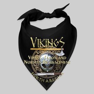 Vikings North America T-Shirt Logo Front/Tagline Back - Bandana