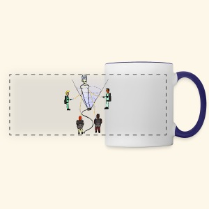 Busting in Narnia - Panoramic Mug