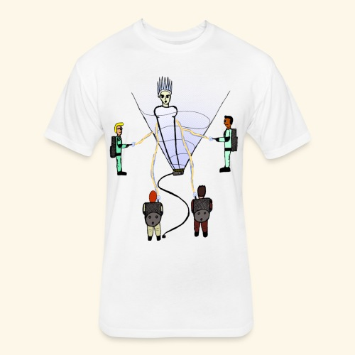 Busting in Narnia - Fitted Cotton/Poly T-Shirt by Next Level