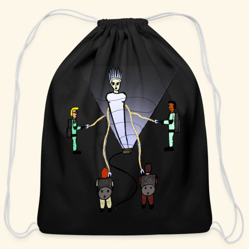 Busting in Narnia - Cotton Drawstring Bag