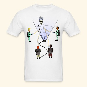 Busting in Narnia - Men's T-Shirt