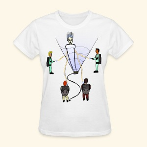 Busting in Narnia - Women's T-Shirt