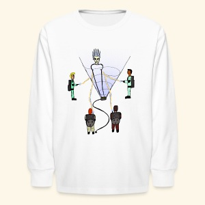 Busting in Narnia - Kids' Long Sleeve T-Shirt