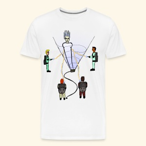 Busting in Narnia - Men's Premium T-Shirt