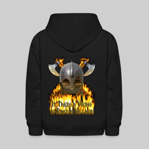 It Takes a Viking to Raze a Village II - Kids' Hoodie