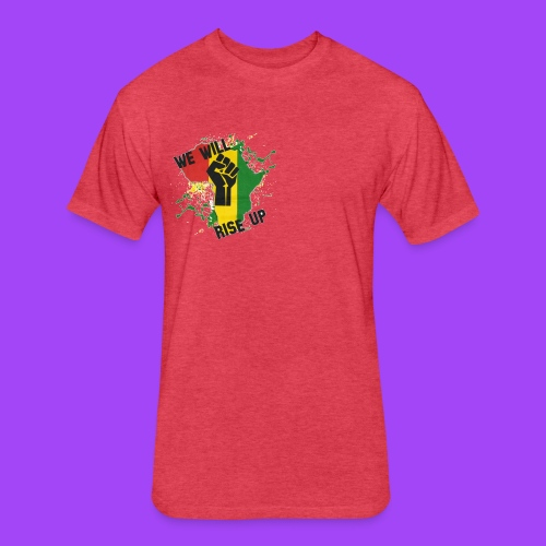 Hope for Haiti - Fitted Cotton/Poly T-Shirt by Next Level