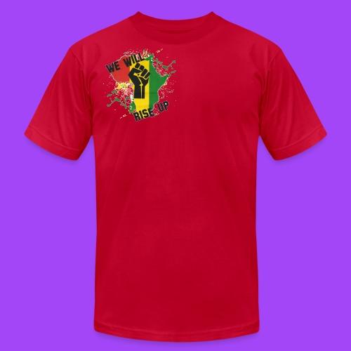 Hope for Haiti - Men's  Jersey T-Shirt