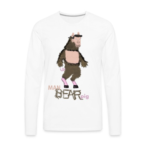 Manbearpig - Men's Premium Long Sleeve T-Shirt
