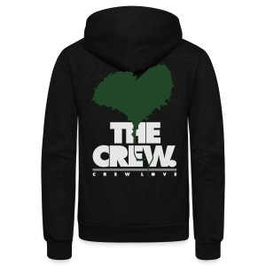 Crew Love - They Loving The Crew - Unisex Fleece Zip Hoodie by American Apparel