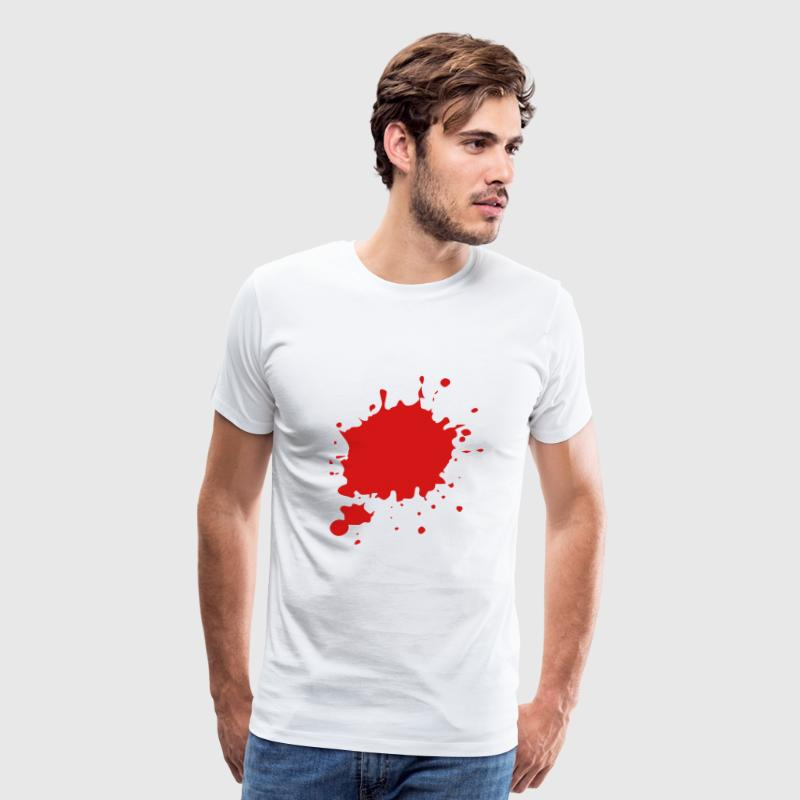 Blood / Ink / Graffiti Splatter Vector T-Shirts - Men's Premium T-Shirt