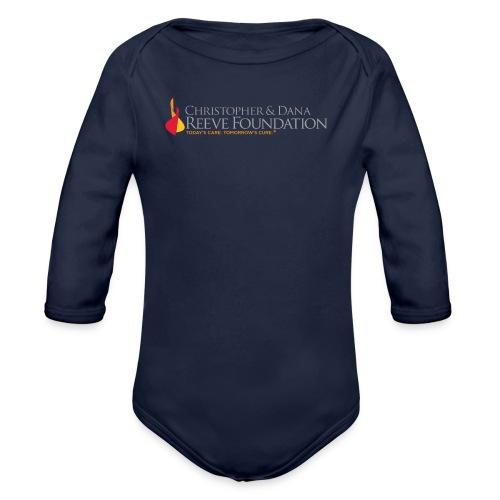 Reeve Foundation Toddlers Tee - Organic Long Sleeve Baby Bodysuit