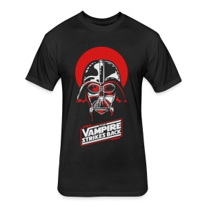 the Vampire Strikes Back - Men's Heavyweight - Fitted Cotton/Poly T-Shirt by Next Level