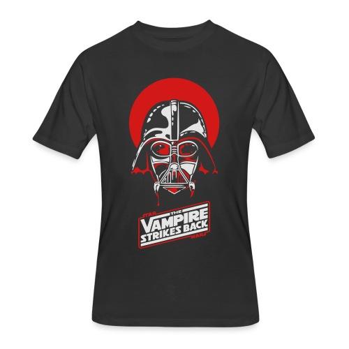 the Vampire Strikes Back - Men's Heavyweight - Men's 50/50 T-Shirt