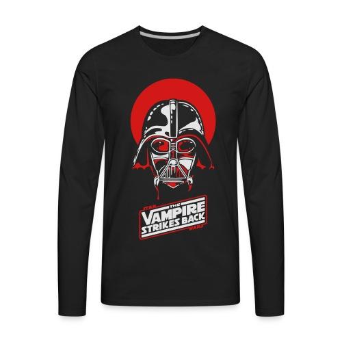 the Vampire Strikes Back - Men's Heavyweight - Men's Premium Long Sleeve T-Shirt
