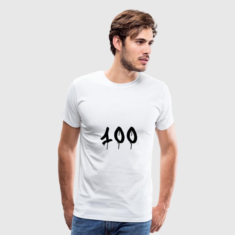 Graffiti : 100 T-Shirts - Men's Premium T-Shirt