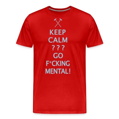 Keep Calm - Hammers - Men's Premium T-Shirt
