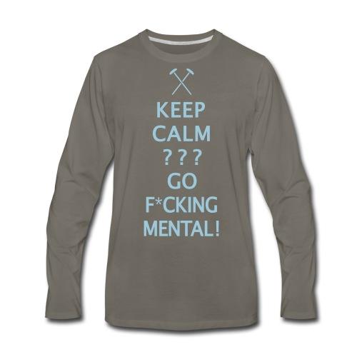 Keep Calm - Hammers - Men's Premium Long Sleeve T-Shirt