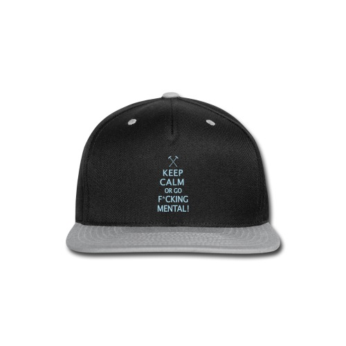 Keep Calm - Hammers - Snap-back Baseball Cap