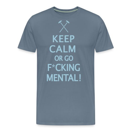 Keep Calm - Hammers - Men's Premium T-Shirt
